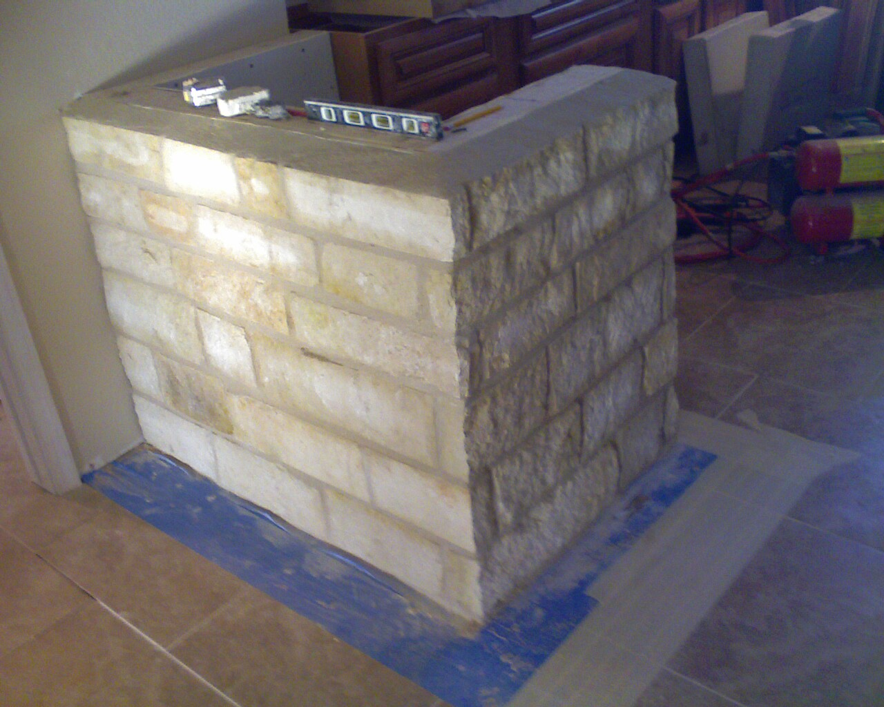 Cinder Block Outdoor Kitchen Austin Concrete And Stonecom